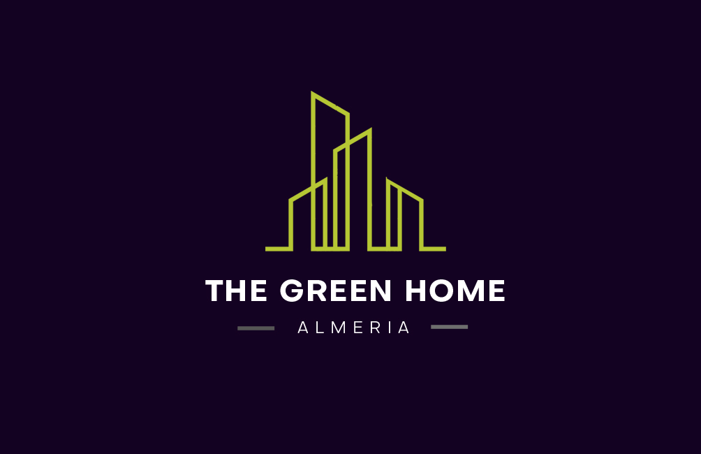 The green home logo